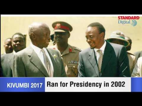 President Uhuru Kenyatta's profile