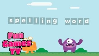 Learn English Word Spelling Word Letter Nouns Baby Part