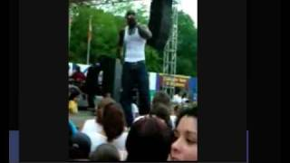 Akon throws kid off stage at K Fest - newly edited for easy viewing