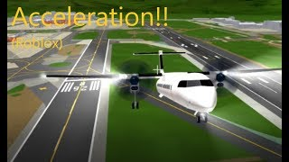 Testing Acceleration Flight Simulator!! (Roblox)