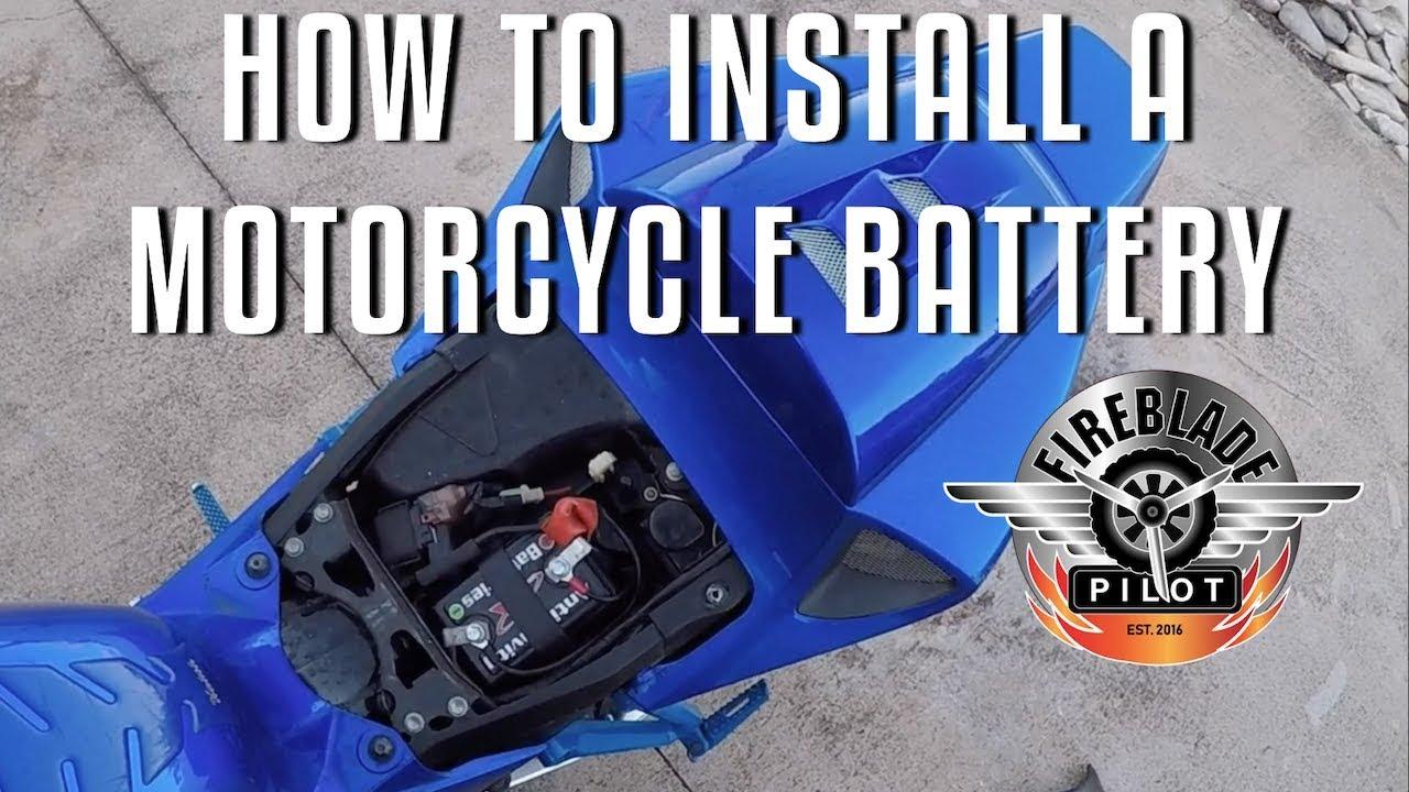 How To Install A Motorcycle Battery 2006 Honda Cbr1000rr Fireblade