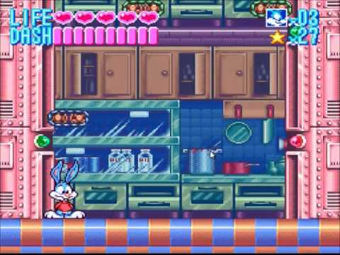 Tiny Toon Adventures: Buster Busts Loose part 1