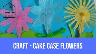 Craft - Cake case flowers