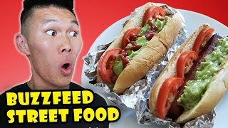 BUZZFEED STREET FOOD Style TASTY RECIPES Tested - Life After College: Ep. 494