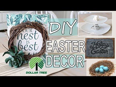 Dollar Tree Easter DIY Ideas 🐰 DIY Spring Decor 2019
