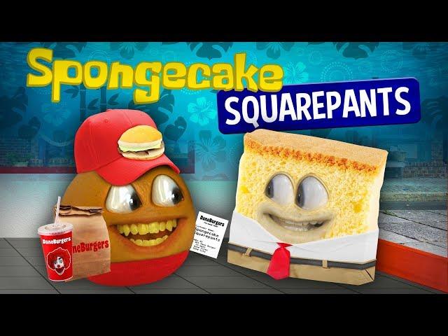 Annoying Orange - Spongecake Squarepants!