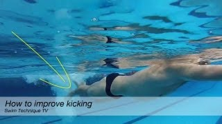 How to improve your kick in swimming