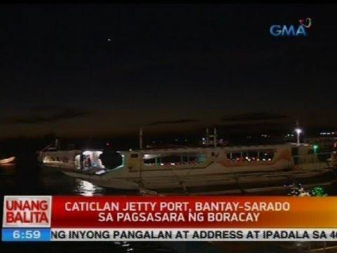 Caticlan Jetty Port, bantay-sarado sa pagsasara ng Boracay