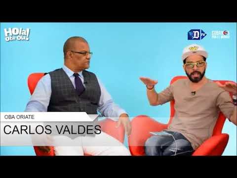 El santero cubano Carlos Valdés habla con Alex Otaola en Hola! Ota-Ola