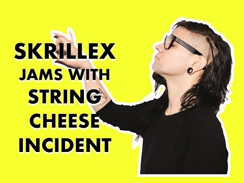 Skrillex jams out with String Cheese Incident at Electric Forest 2015 | Dancing Astronaut