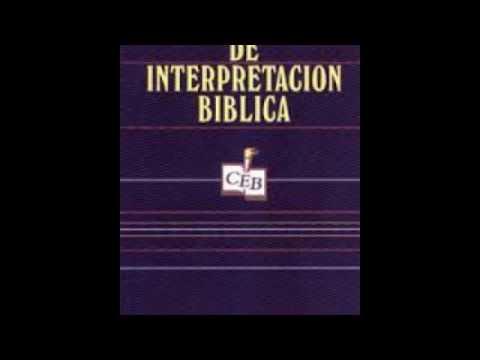 Normas de Interpretación Bíblica Ernesto Trenchard
