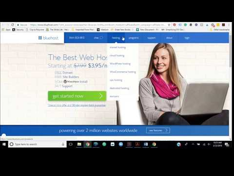 Domain Name Registration with Bluehost Tutorial