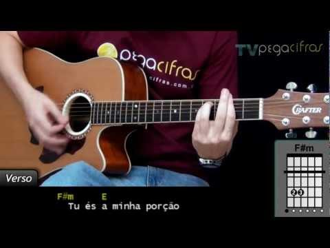 Fernandinho - Ainda Que A Figueira (Aula de violão) - TV Pega Cifras