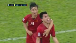 Malaysia vs Vietnam Extended Highlights (AFF Suzuki Cup 2018)