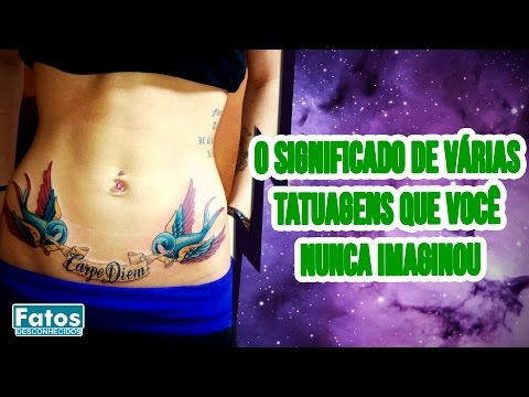Veja o video – O significado das tatuagens nas prisões – Fatos Desconhecidos