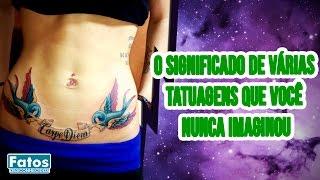 O significado das tatuagens nas prisões - Fatos Desconhecidos