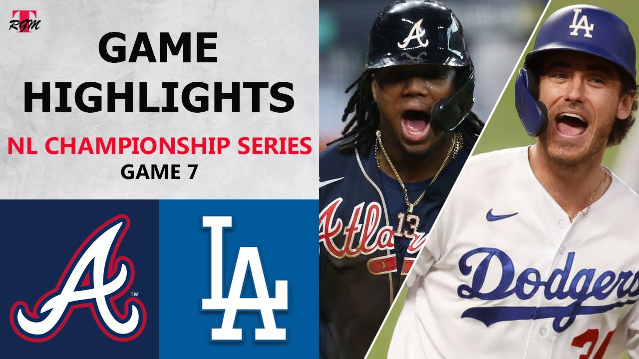 Atlanta Braves vs. Los Angeles Dodgers Game 7 Highlights | NLCS (2020)
