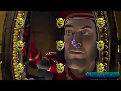 The Shrekoning, But Various Effects Are Applied Each Time It Switches To A Different Entry