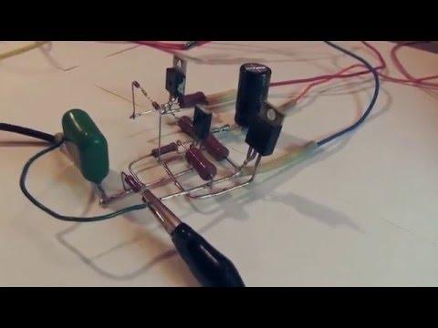 Усилитель на 3 х транзисторах