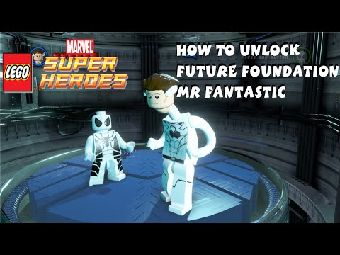 How to Unlock Future Foundation Mr Fantastic in Lego Marvel Super Heroes - Fantastic Four
