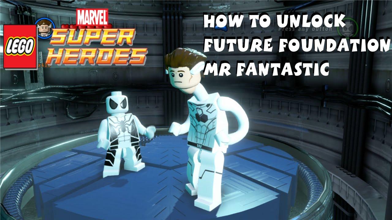How to Unlock Future Foundation Mr Fantastic in Lego ...