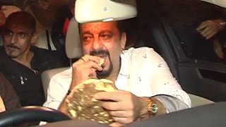Sanjay Dutt Spotted At Sehri Party