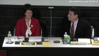 Brockton School Committee Meeting 12-18-18