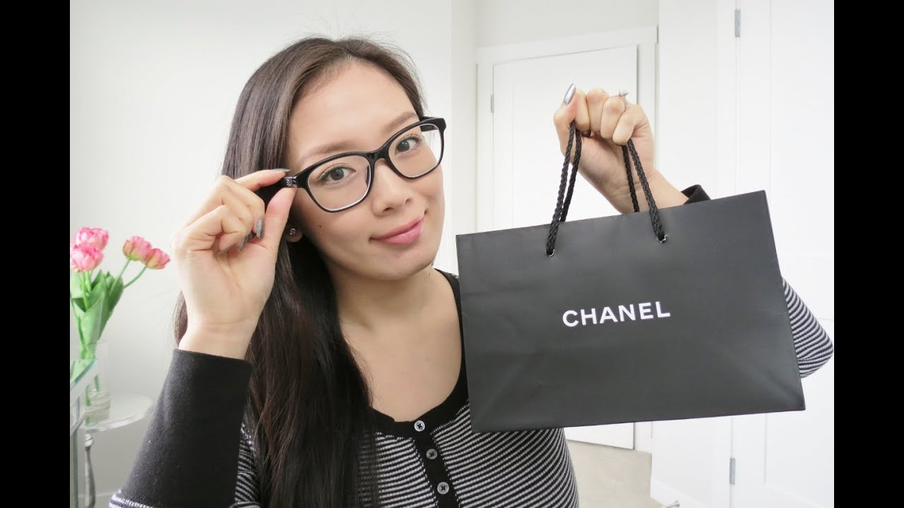 1f72069dc3 My New CHANEL Glasses! - YouTube