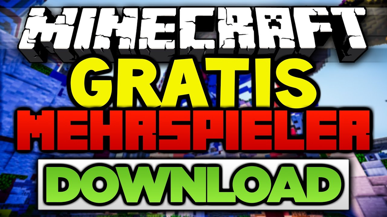 Kostenloser Minecraft Download
