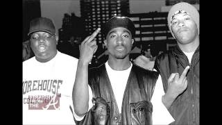 2Pac -- Throw Up Ya Gunz (HQ) (Remix) (Lyrics)