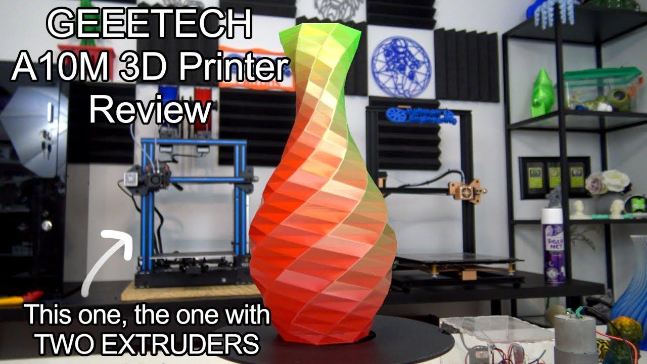 video Geeetech A10M 3D Printer