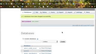 How to Export and Import Database php MyAdmin