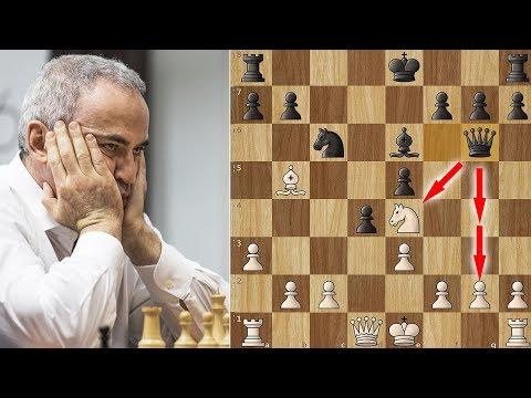 Garry Kasparov faces Levon Aronian - A Wild Round 4 in St. Louis!