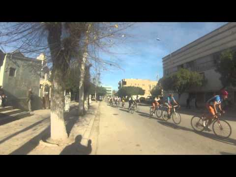 The Tour of Chlef cycling 2014 (Algeria) GoPro Hero 3 HD video