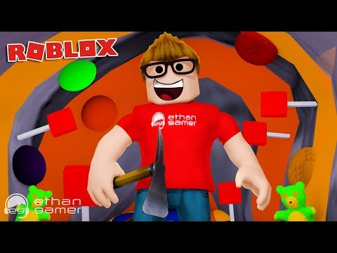 MINING FOR GUMMY BEARS!! | Roblox
