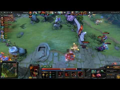 Shanghai Dota2 Open S2 TongFu vs Invictus Gaming Game 1 of 2 Part 2