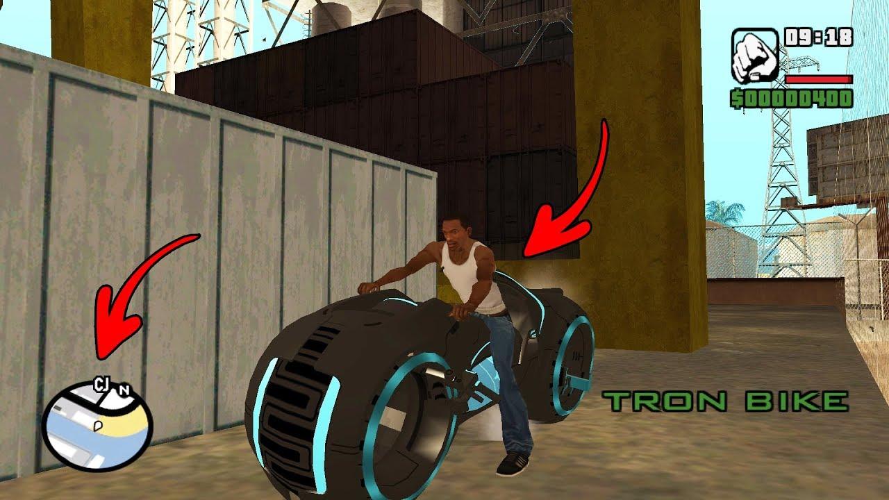 Secret Tron Bike Location in GTA San Andreas! (Hidden Place) thumbnail