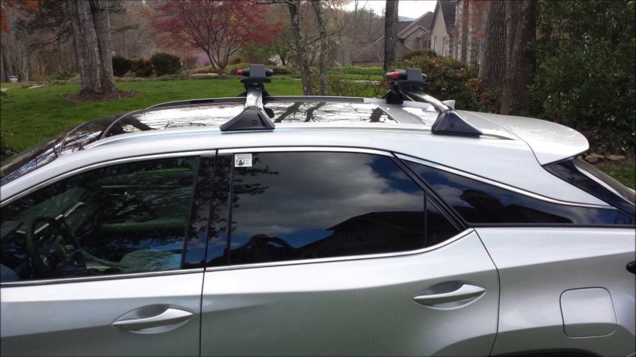 Beautiful Lexus Roof Rack Installation   2017 RX350 FSport With Panoramic Glass Roof