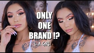 Date Night Makeup   One Brand Tutorial L.A Girl + Giveaway