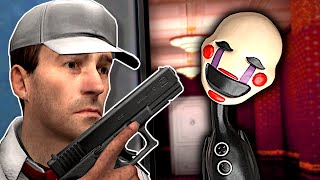 FNAF Animatronics are in our HOTEL!  Garry's Mod Gameplay