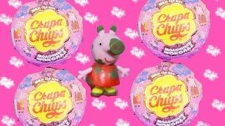 Chupa Chups Peppa Pig Choco Toys Surprise Box Peppa Nickelodeon Свинка Пеппа Сюрприз Чупа Чупс