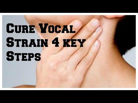 How to Cure Vocal Strain. 4 Keys Steps! Blog 2