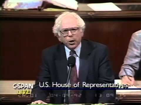 Bernie Sanders: The System is Owned by Big Money (4/9/1992)