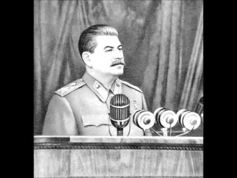 Speech at the First All-Union Conference of Stakhanovites (By Stalin, 1935)