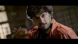 Kiccha Sudeep rejects heroine's love | Gooli Kannada Movie | Kannada Comedy Scenes | Mamatha