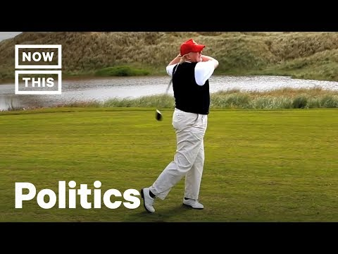 Trump's Golf Trips Have Cost Taxpayers a Ton Already | NowThis