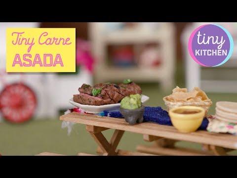 Tiny Carne Asada with Guacamole | Tiny Kitchen