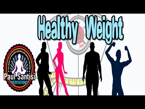 Healthy Weight Meditation Turn Your Metabolism Into A FAT BURNING FURNACE 3D Sound Paul Santisi