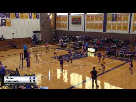 Elmira College Women's Volleyball vs. Cazenovia College