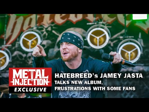 HATEBREED's Jamey Jasta Talks Frustration with Fans, New Album, Power of Words   Metal Injection